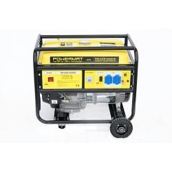 Agregat prądotwórczy PM-AGR-6500KE +R 230V / 12V AVR