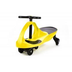 Jeździk dwuosobowy Swing Car ST-PC268A (żółty)