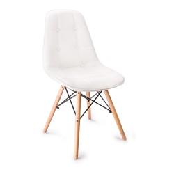 Krzesło KING BRUNO (białe)