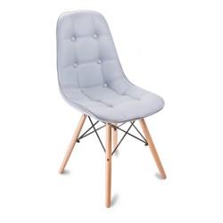 Krzesło KING BRUNO (szare)