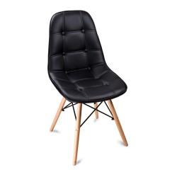 Krzesło KING BRUNO (czarne)
